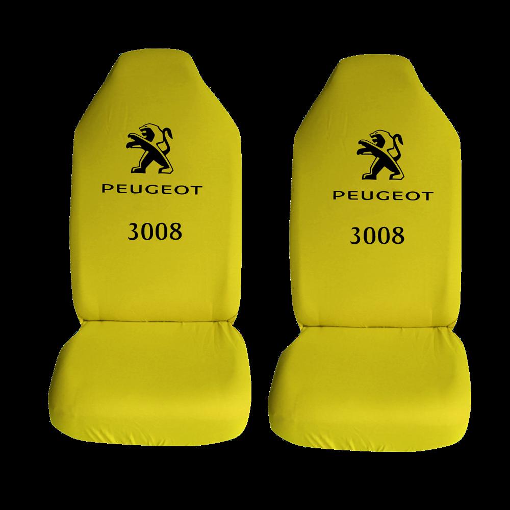 Peugeot 3008 Ozel Araba Oto Koltuk Kilifi On Arka Takim Sari Penye Araca Ozel Baskili Bayilere Ozel Kdv