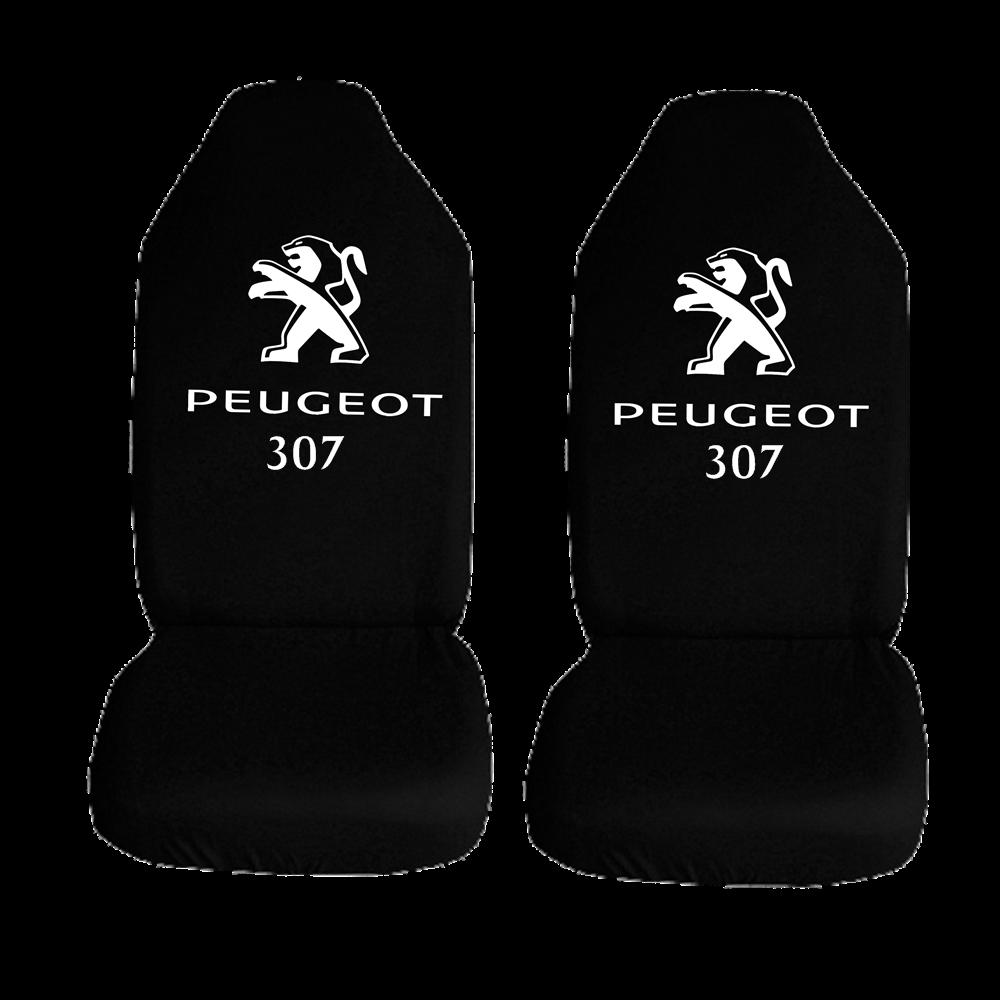 Peugeot 307 Ozel Araba Oto Koltuk Kilifi On Koltuklar Siyah Penye Araca Ozel Baskili Bayilere Ozel Kdv