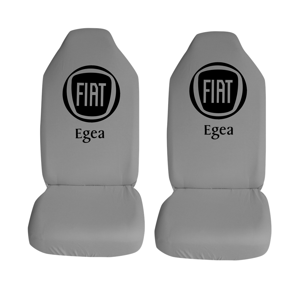 Fiat Egea Ozel Araba Oto Koltuk Kilifi On Koltuklar Gri Penye Araca Ozel Baskili Bayilere Ozel Kdv
